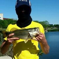 Mueller Neighborhood Pond Fishing Report 04/04/2016