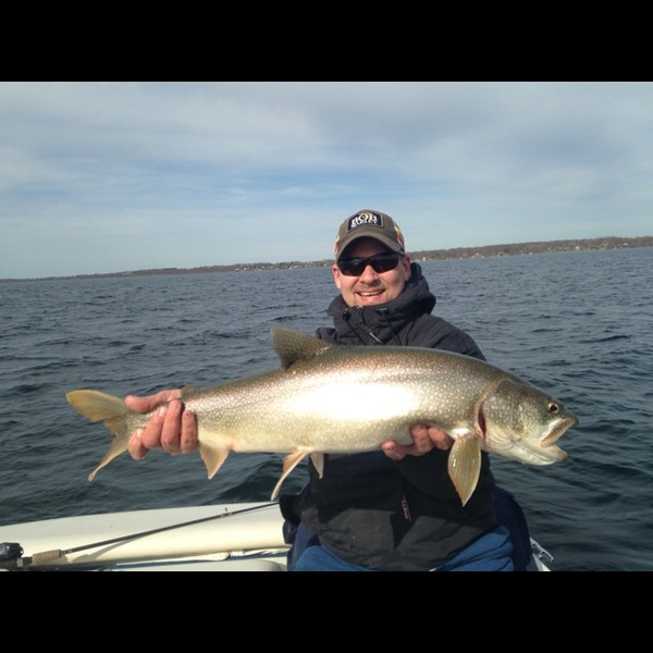 Lake trout seneca lake ny fishingscout for Freshwater fishing ny