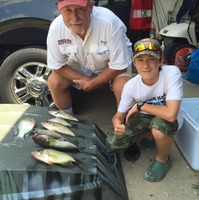 Hubbard Creek Lake Fishing Report 08/04/2015