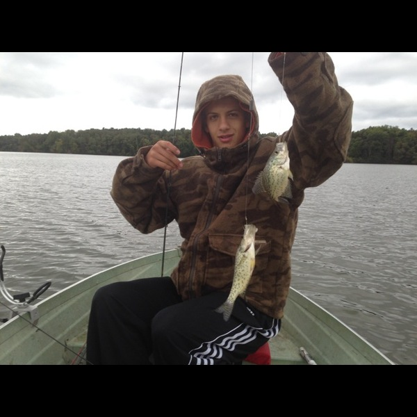 Black crappie mogadore reservoir oh fishingscout for Ohio fishing report