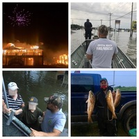 Dickinson Bayou Fishing Report 08/29/2017