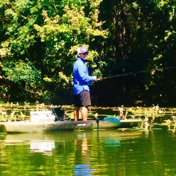 Lake New Ingram  Fishing Report 10/11/2014