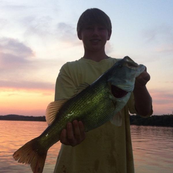 Lake Marble Falls Fishing Report 07/06/2013