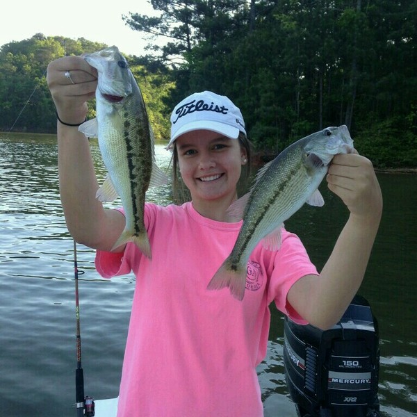 Spotted bass allatoona lake ga fishingscout for Allatoona fishing report