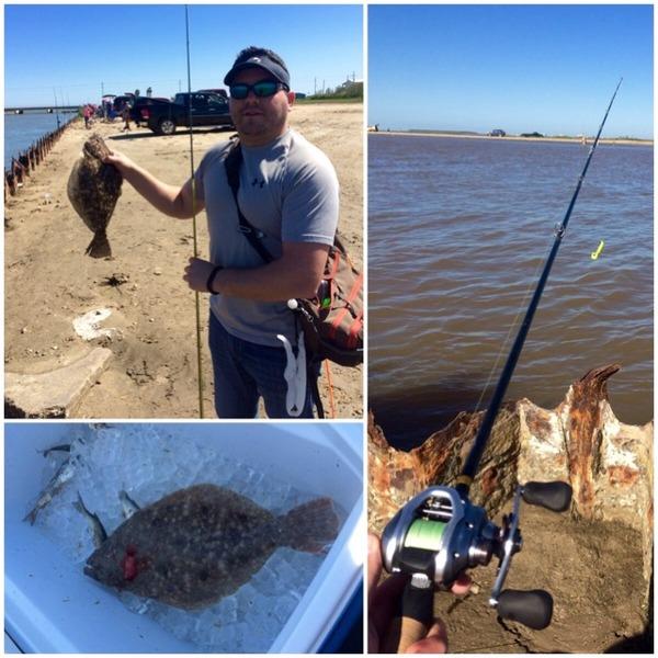 Flounder bolivar peninsula tx fishingscout for Rollover pass fishing report