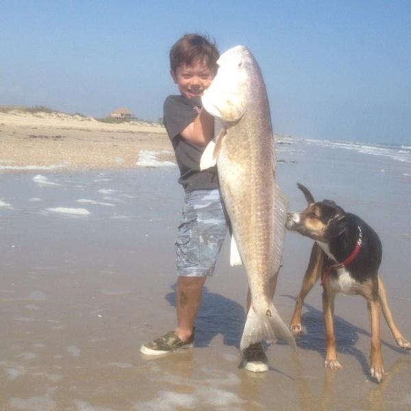 Bolivar Peninsula Fishing Report 03/30/2013