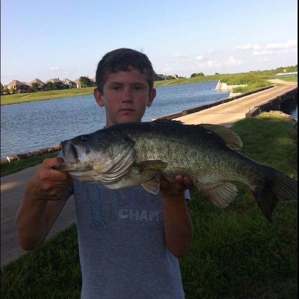 McKinney ponds Fishing Report 04/30/2013