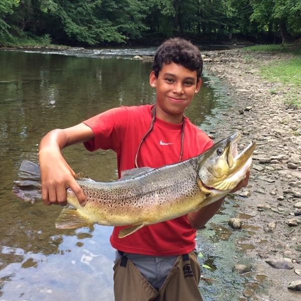 Musconetcong river fishing reports fishingscout mobile app for Fishing report nj