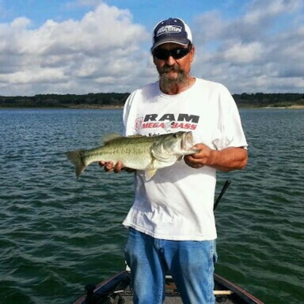 Largemouth bass belton lake tx fishingscout for Belton lake fishing