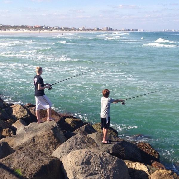 Bite alert new smyrna beach fl fishingscout for New smyrna beach fishing report