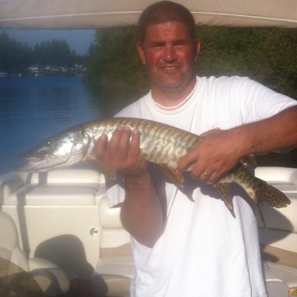 Lake tapps fishing reports fishingscout mobile app for Fishing report washington