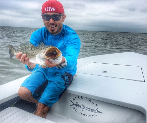 Spotted speckled trout corpus christi bay tx for Fishing report corpus christi texas