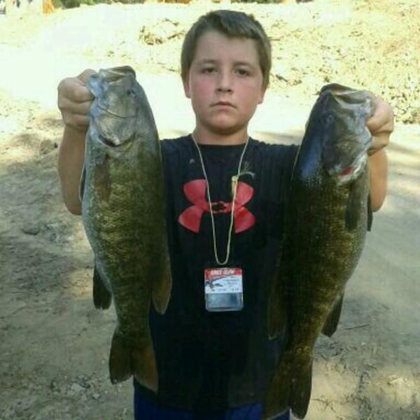 Smallmouth bass cumberland river ky fishingscout for Lake cumberland fishing report