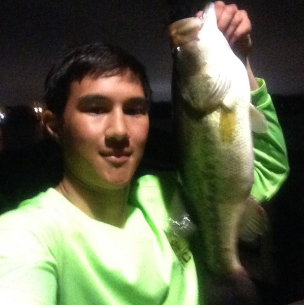 College Station Ponds Fishing Report 04/12/2015