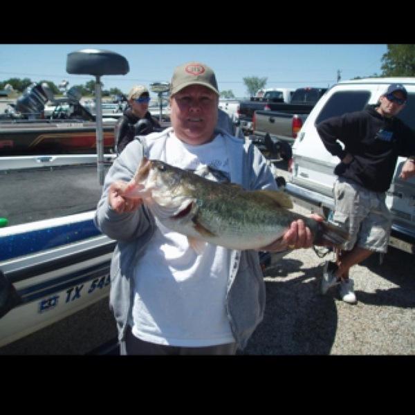 Largemouth bass lake amon carter tx fishingscout for Carters lake fishing report