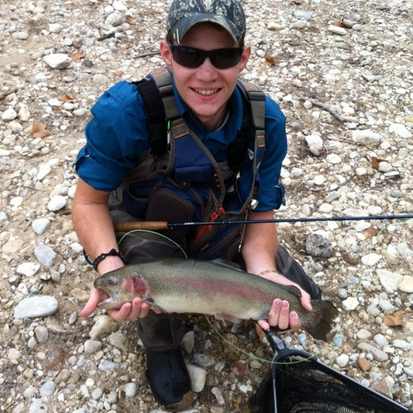 Guadalupe River Fishing Report 12/04/2013