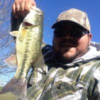 San Jacinto River Fishing Report 01/03/2016