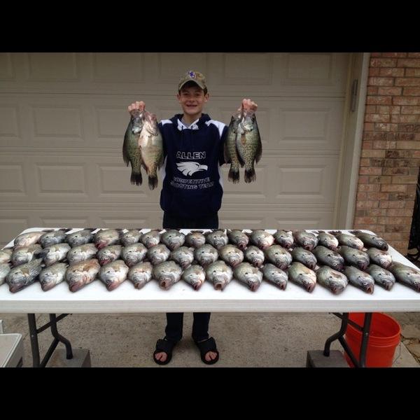 Lake Lavon Fishing Report 03/26/2014