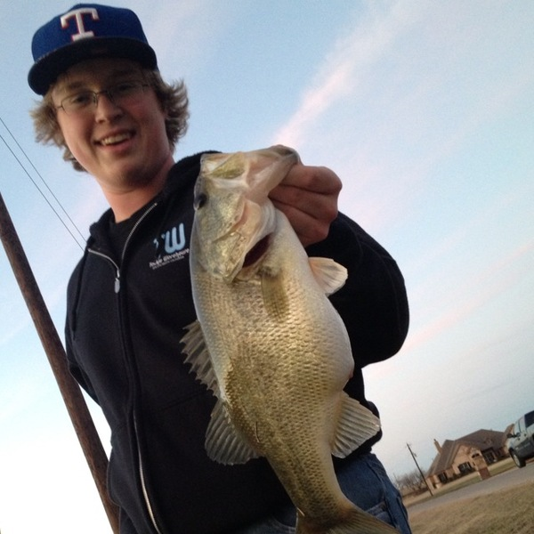Weatherford Ponds Fishing Report 02/22/2013