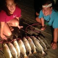 Lake Austin (Bay City) Fishing Report 09/01/2014