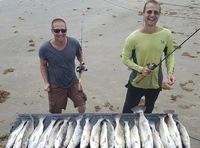 Galveston Island Beach Fishing Report 08/11/2017