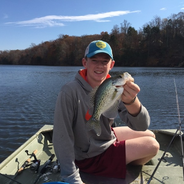 White crappie potomac river va md wv fishingscout for Wv fishing report