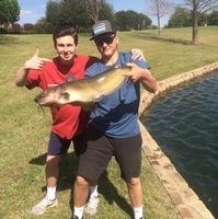 McKinney ponds Fishing Report 04/08/2017