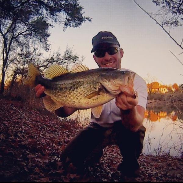 Old Settler's Lake Fishing Report 12/17/2013
