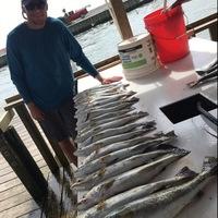 East Bay Fishing Report 08/12/2016