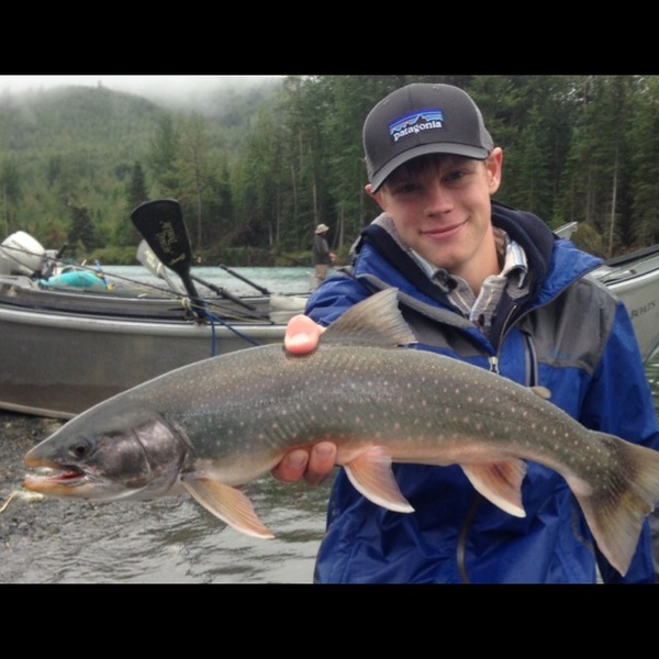 Arctic char kenai river ak fishingscout for Kenai fishing report