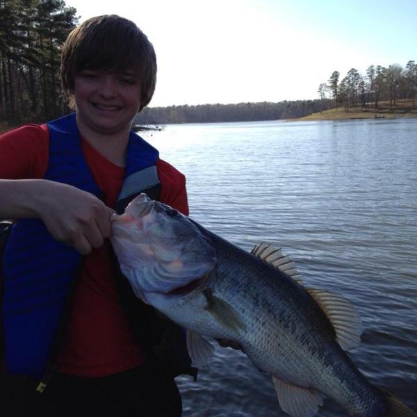 Lake O' the Pines Fishing Report 04/12/2013