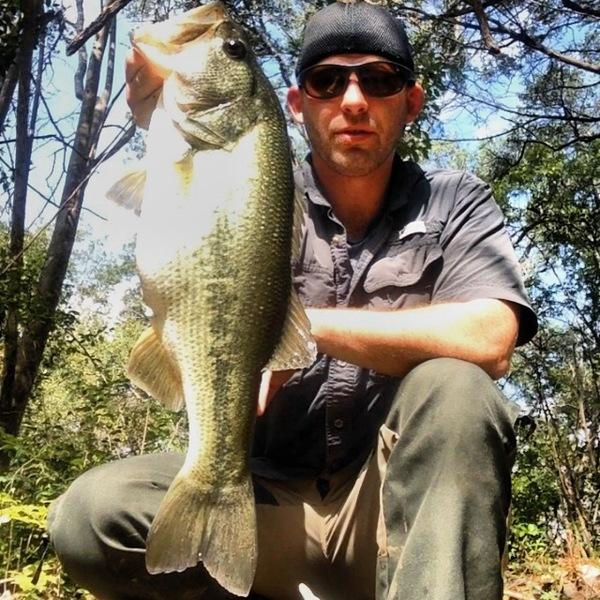 San Gabriel River Fishing Report 10/12/2013