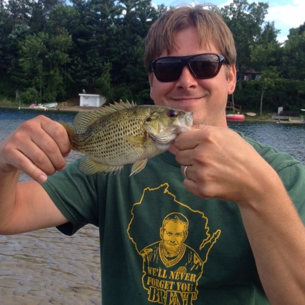 Rock bass pine lake wi fishingscout for Lake of the pines fishing report