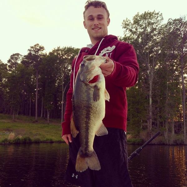 Lake Naconiche Fishing Report 04/16/2014