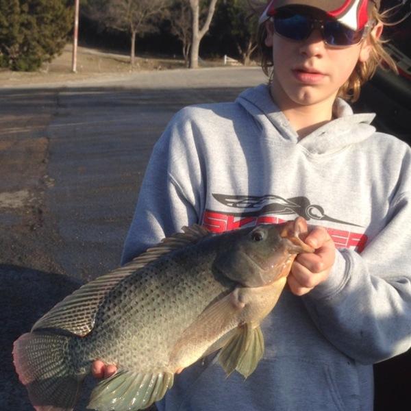 Squaw Creek Reservoir Fishing Report 02/16/2014