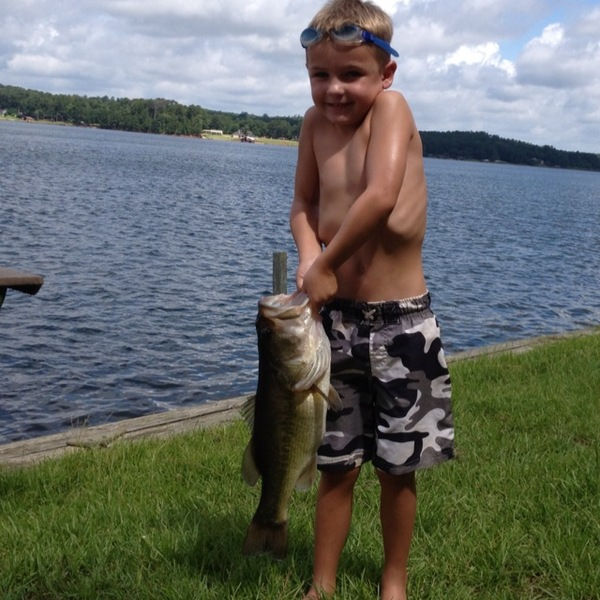 Lake Nacogdoches Fishing Report 07/21/2013