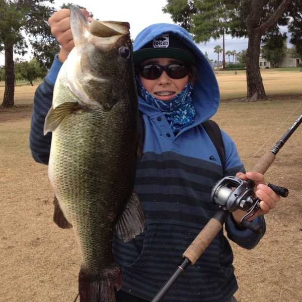 Chaparral Lake Fishing Report 12/05/2013