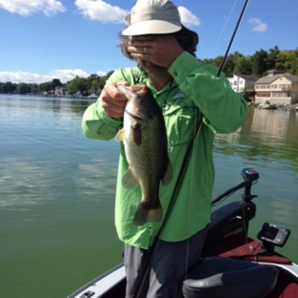 largemouth bass   conesus lake ny fishingscout