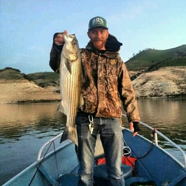 Striped bass san luis reservoir ca fishingscout for San luis reservoir fishing