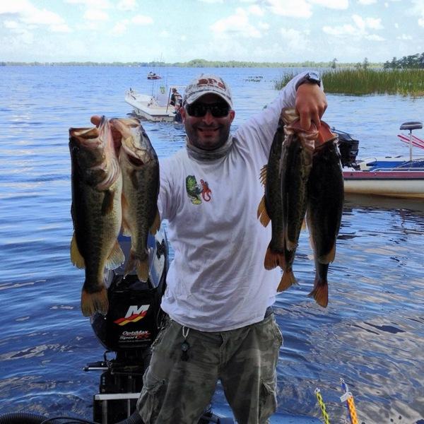 Largemouth bass lake istokpoga fl fishingscout for Bass fishing reports