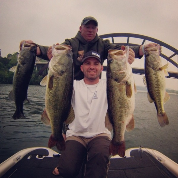 Lake Austin (Austin) Fishing Report 04/27/2014