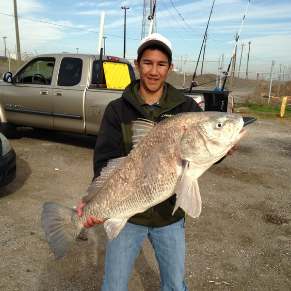 Morgan's Point Fishing Report 01/20/2014