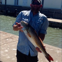 Goose Island State Park Fishing Report 09/12/2014