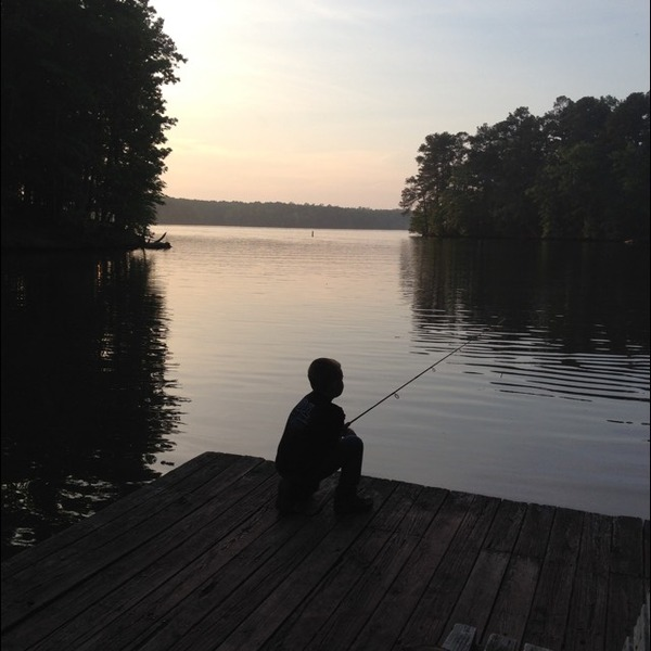 Lake tillery fishing reports fishingscout mobile app for Nc fishing report