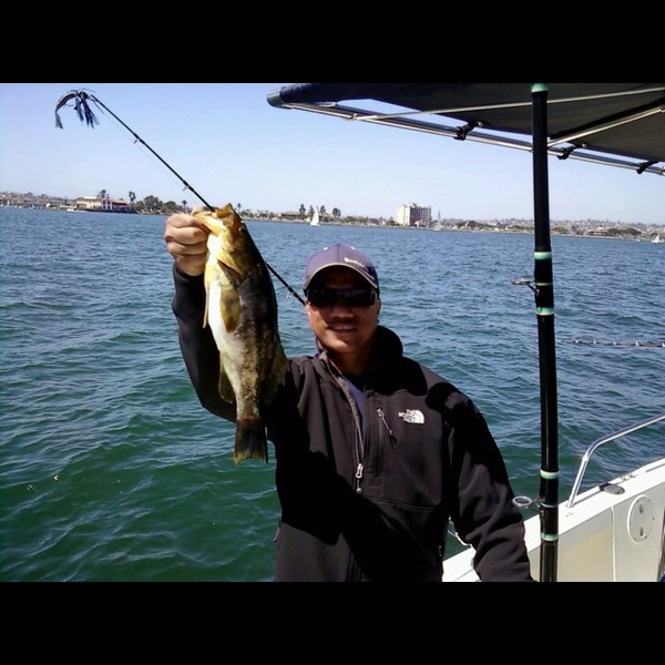 Scout k benzon fishingscout for Fishing in san diego