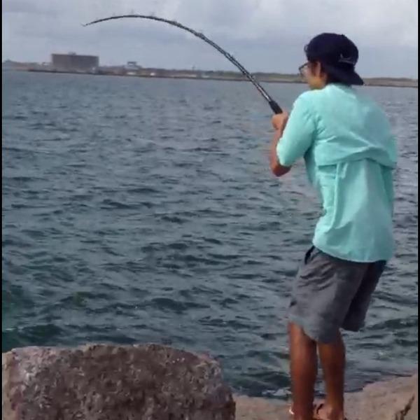 Port aransas fishing reports fishingscout mobile app for Fishing report texas