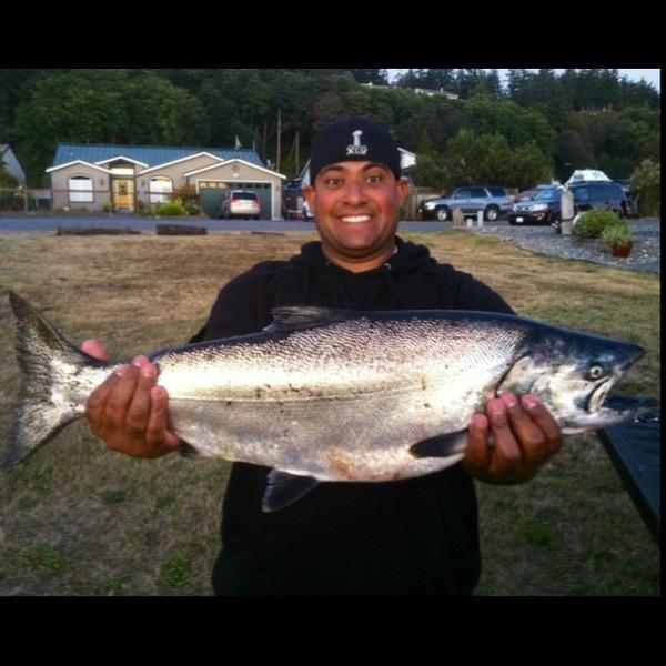 Port susan fishing reports fishingscout mobile app for Fishing report washington